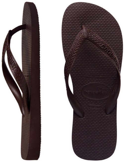 Havaianas Mens Top Brown Thongs - Image 1