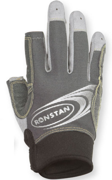 Ronstan Sticky Race Glove Three Finger Sailing Gloves