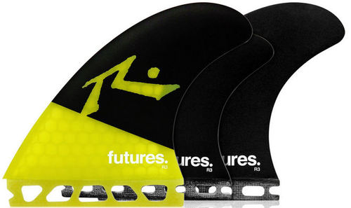 Futures Rusty HC Tri-Quad Fin Set (5 Fin Set)