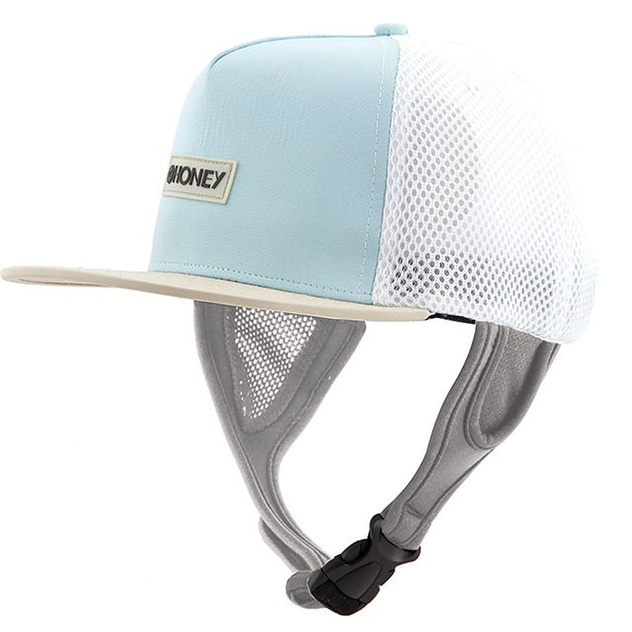 Ocean And Earth Ladies Kuta Mesh Trucker Surf Hat Aqua