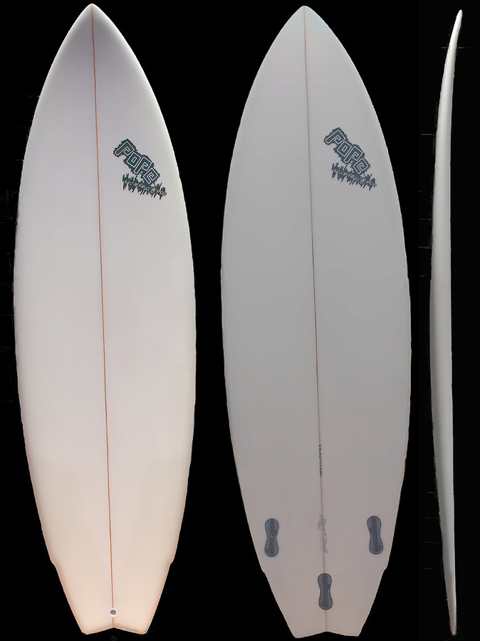 Nick Pope Twin Fin FCS2 Two Plus 1 Package Deal