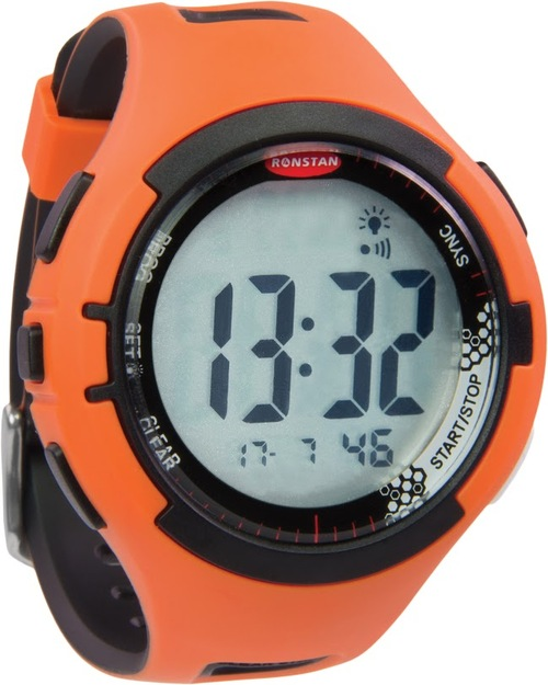 Ronstan Clear Start Sailing Watch Orange Black - Image 1