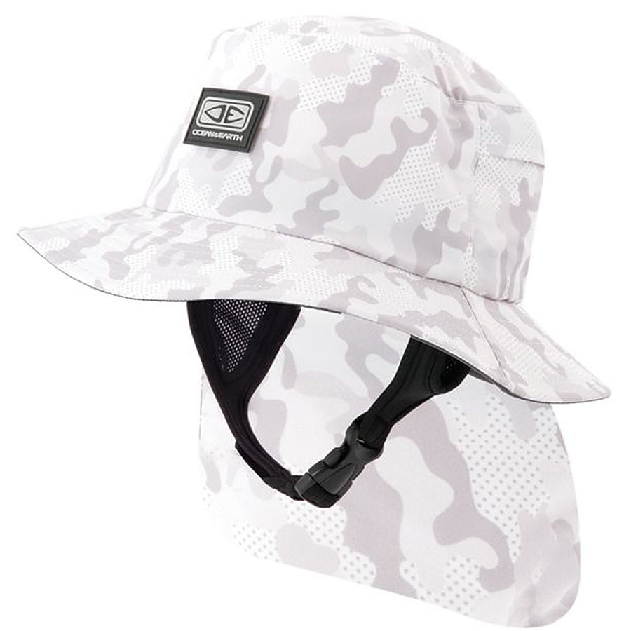 Ocean And Earth Indo Mens Surf Hat Camo - Image 1