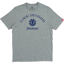 more on Element Worldwide SS Mens Tee Grey Heather