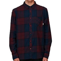 more on Element Buffalo LS Mens Shirt Napa Red