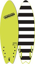 more on Catch Surf Odysea Skipper 2021 Quad Fin Softboard Electric Lemon
