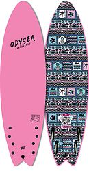 more on Catch Surf Odysea Skipper Pro 2021 JOB Quad Fin Softboard Pink