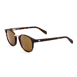more on Otis A Day Late Matte Dark Tort Brown Sunglasses