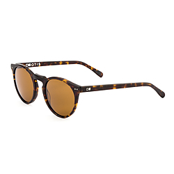 more on Otis Omar Matte Dark Tort Brown Sunglasses