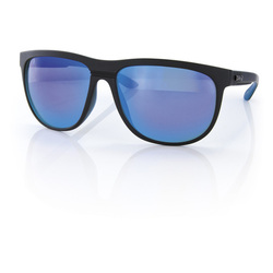 more on Carve Eyewear Matrix Matte Black Blue Revo Sunglasses