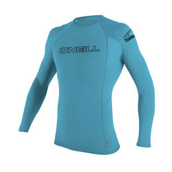 more on Oneill Youth Basic Skins LS Rash Vest Crew Turquoise