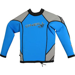 more on Oneill Youth HyperFreak LS Crew 1.5mm Blue Grey