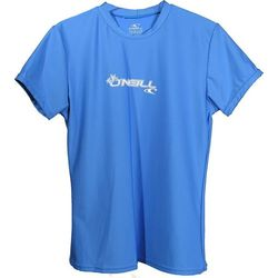 more on Oneill 6oz Basic Skins SS Ladies Crew Rash Tee Blue