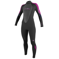 more on Oneill Bahia 3-2mm Ladies Flatlock Full Pink