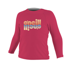 more on Oneill Kids Skins Pink LS Rash Tee