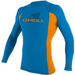 more on Oneill Youth Skins LS Crew Blue Orange