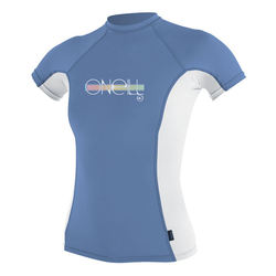 more on Oneill Kids Skins S S Rash Vest Crew Periwinkle