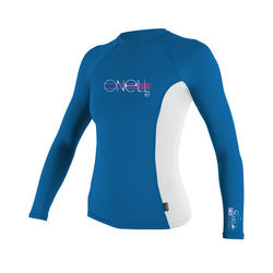 more on Oneill Kids Skins L/S Rash Vest Crew Ruby