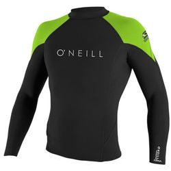 more on Oneill Hyperfreak Mens .5mm L S Crew Black Lime