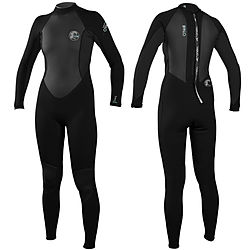 more on Oneill Bahia 3mm 2mm Ladies Flatlock Full Black