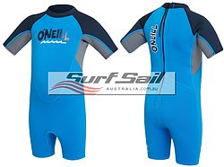 more on Oneill Toddler Reactor Spring Wetsuit Brite Blue Smoke Abyss