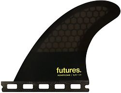 more on Futures QD2 HC Quad Rear Fin Set (4 inch)