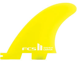 more on FCS II Carver Neo Glass Quad Rear Fin Set