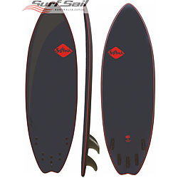 more on Softech 5 ft 10 inches Tom Carroll Signature Model Softboard