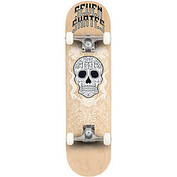 more on Seven Skates Complete Sugar Skull Skateboard