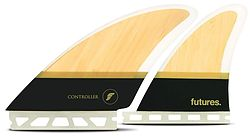 more on Futures Contoller Bamboo Quad Fin Set