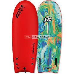 more on Catch Surf Beater Original Lost 2018 54 inches Twin Fin Softboard Red