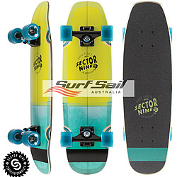 more on Sector9 Bat Ray Lime Complete Cruiser Skateboard