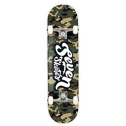 more on Seven Skates Complete Army Camo Skateboard 7.8""