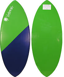 more on Victoria Skimboards Poly E Glass Green Blue Green Bottom XL Skimboard