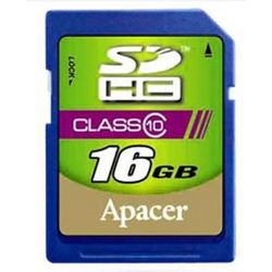 more on Apacer 16 GB SDHC Flash Card