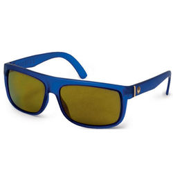 more on Dragon Wormser Matte Blue Gold Ionized Sunglasses