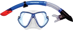 more on Surf Sail Australia Pacific Silicone Mask and Snorkel Set Blue