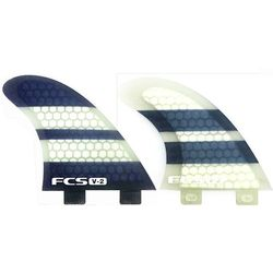 more on FCS V-2 PC Tri Quad Fin Set