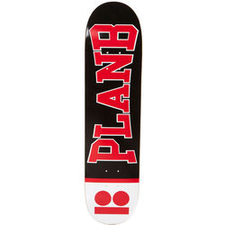 more on Plan B Boxer Red Team Skateboard Deck