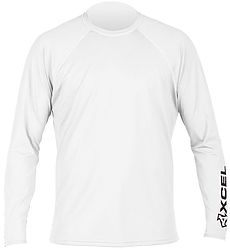 more on Xcel Men's LS Rash Vest VNTX Solid UV Signature White