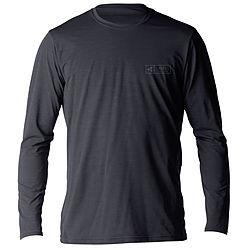 more on Xcel Men's Pacific VNTX LS Rash Shirt Heather Black