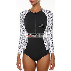 more on Ocean and Earth Ladies Sisco LS Surfsuit Graphite