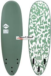 more on Softech Bomber White Green Softboard