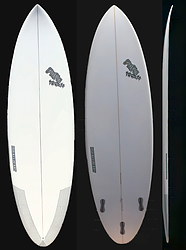 more on Nick Pope Tri Fin FCS2 Huckleberry