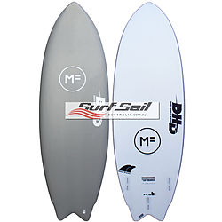 more on Mick Fanning Softboards DHD The Twin Grey Softboard