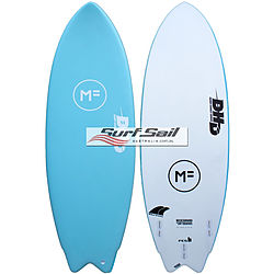 more on Mick Fanning Softboards DHD Twin Fin Island Paradise Softboard