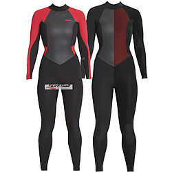 more on Xcel 3mm 2mm Ladies Axis Fullsuit Black Goji