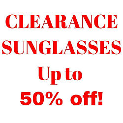 Clearance Sunglasses image - click to shop