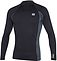 more on Oneill Mens 6oz Skins LS Crew Rash Vest Black Graphite Black