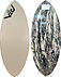 more on Victoria Skimboards Poly Carbon White Black Swirls Bottom XL Skimboard